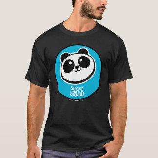 自殺の分隊|のパンダの御用達のロゴ Tシャツ