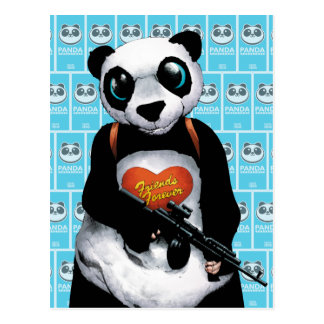 自殺の分隊|のパンダ ポストカード