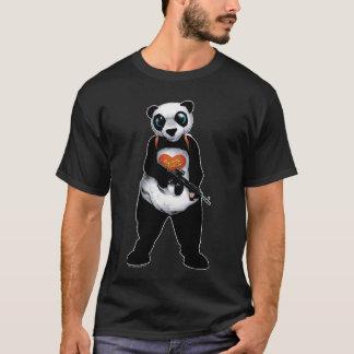 自殺の分隊|のパンダ Tシャツ