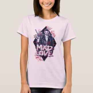 自殺の分隊|の気違い愛 Tシャツ