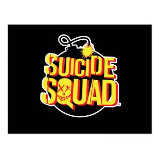 自殺の分隊|の爆弾のロゴ ポストカード