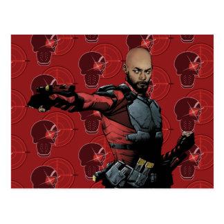 自殺の分隊| Deadshotの漫画本の芸術 ポストカード