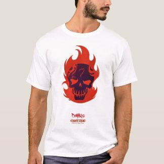 自殺の分隊| Diabloのヘッドアイコン Tシャツ