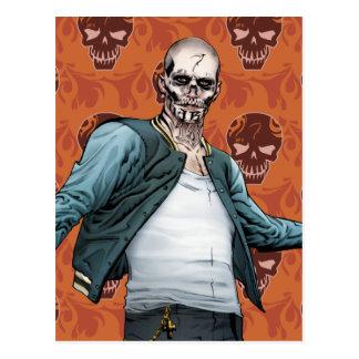 自殺の分隊| El Diabloの漫画本の芸術 ポストカード