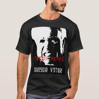 自殺の投票者1 Tシャツ