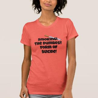 自殺の最も物の言えない型枠 Tシャツ