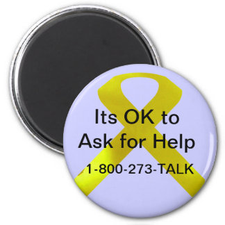 自殺の認識度の助けの磁石 マグネット