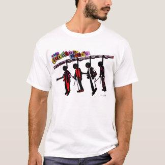 自殺の遺書のTシャツ Tシャツ