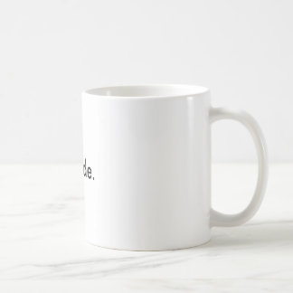 """""""自殺""""のギャグのマグ コーヒーマグカップ"""