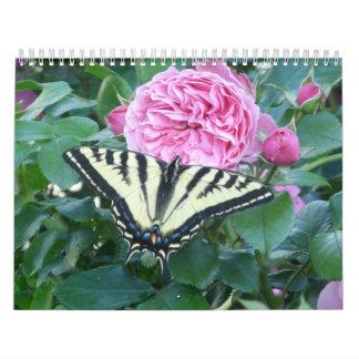 自然および野性生物のカレンダー カレンダー