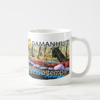 自然が寺院のマグであるところ コーヒーマグカップ