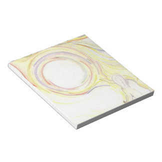 自然で普遍的なつながりのメモ帳 ノートパッド