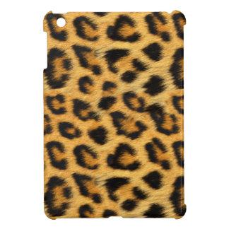 自然で模造のなヒョウの毛皮のiPad Miniケース iPad Miniカバー