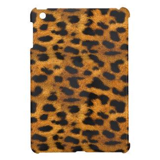 自然で模造のなヒョウの毛皮のiPad Miniケース iPad Miniケース