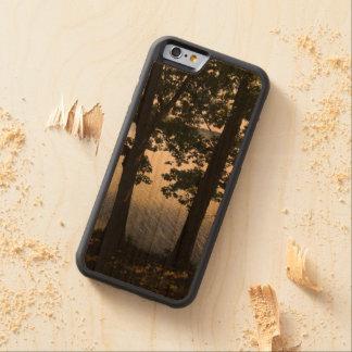 自然との1つ CarvedチェリーiPhone 6バンパーケース