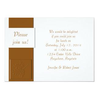 自然なスパイスの招待状 カード