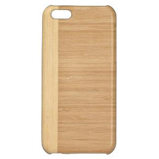 自然なタケボーダー木製の穀物の一見 iPhone5Cカバー