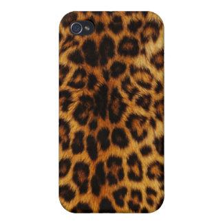 自然なヒョウの点 iPhone 4/4Sケース