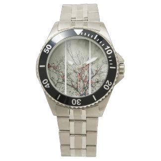 自然な動機のトリプティク 腕時計