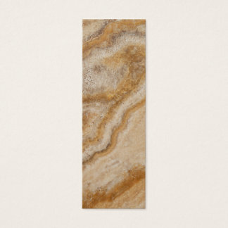 自然な大理石の背景の石のテンプレートタン スキニー名刺