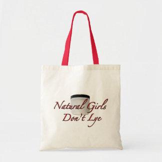 自然な女の子はアルカリ液 トートバッグ