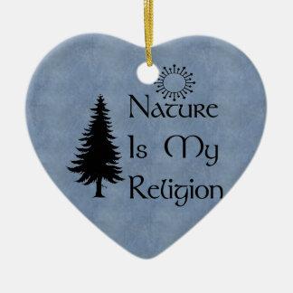 自然な宗教 セラミックオーナメント