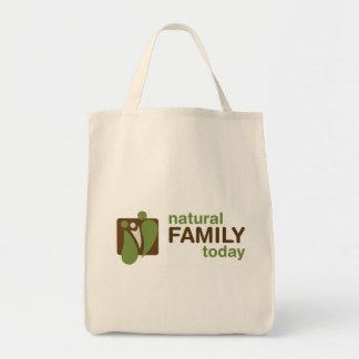 自然な家族のトート トートバッグ