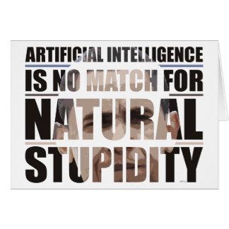 自然な愚かさ カード