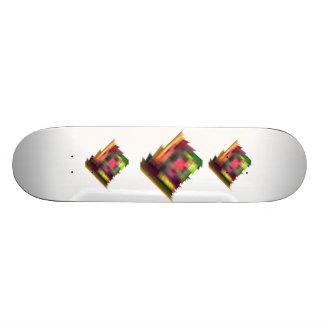 自然な木カッコいいのロゴのスケートボード スケートボードデッキ