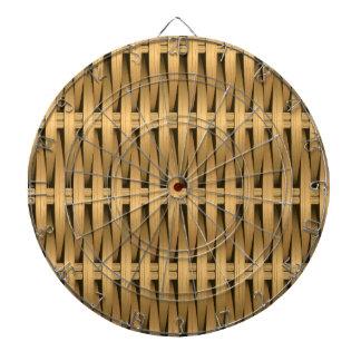 自然な杖の枝編み細工品 ダーツボード