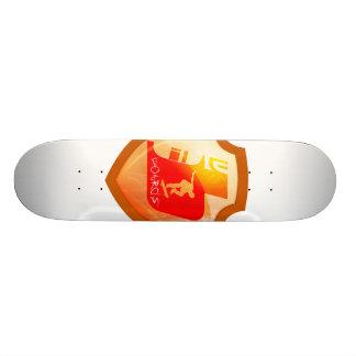 自然な板 カスタムスケートボード