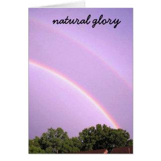 自然な栄光 カード