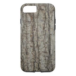 自然な樹皮の迷彩柄の素朴なiPhone 7の場合 iPhone 8/7ケース