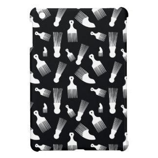 自然な毛のファッション iPad MINI カバー