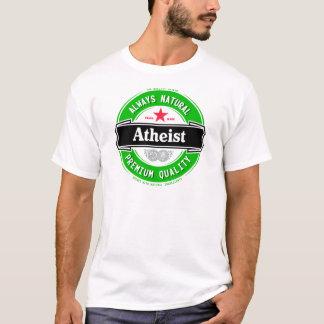 自然な無神論者 Tシャツ