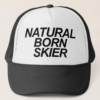 自然な生まれるスキーヤー キャップ
