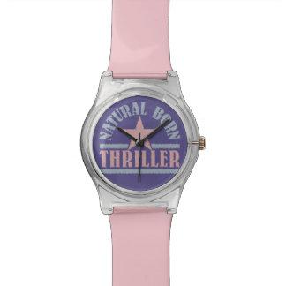 自然な生まれるスリラーのカスタムの腕時計 腕時計