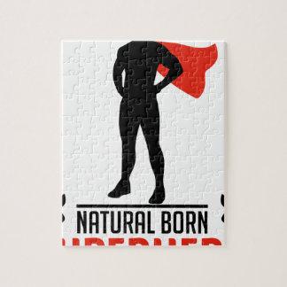 自然な生まれるスーパーヒーロー ジグソーパズル