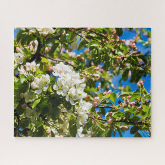自然な白い花 ジグソーパズル