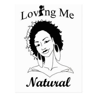 自然な私を愛します ポストカード