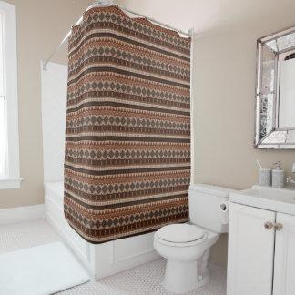 自然な種族のシャワー・カーテン シャワーカーテン