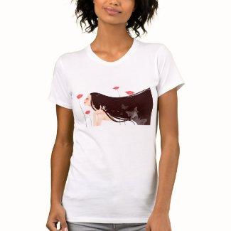 自然な美しい T シャツ