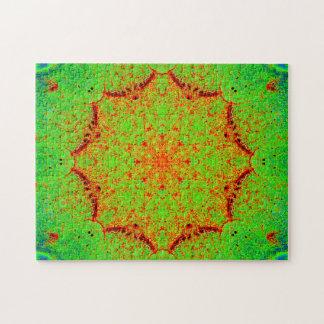 自然な色の星の曼荼羅 ジグソーパズル