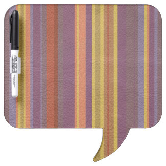 自然な色の革プリントで縞で飾りましたり及び並びます ホワイトボード