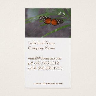 自然な蝶 名刺