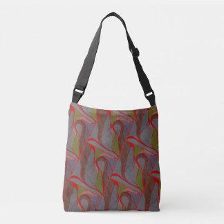 自然な要素のしぶきの交差体のバッグ クロスボディバッグ