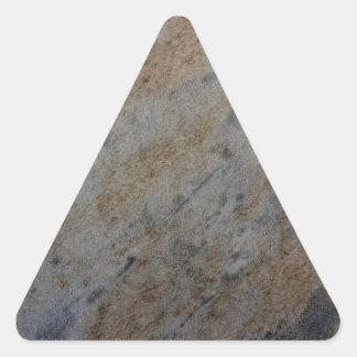 自然な要素パターンが付いている風によって老化させる砂岩 三角形シール