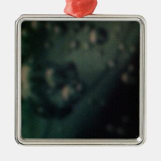 自然な金属終わりの柔らかい緑の泡 メタルオーナメント