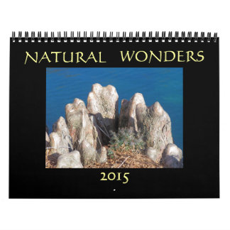 自然な驚異2015年 カレンダー