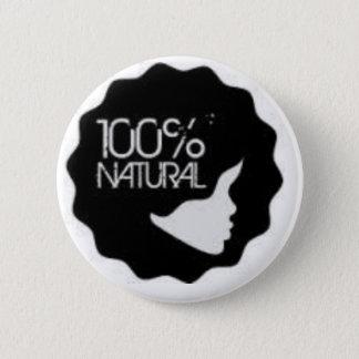 自然な100% 缶バッジ